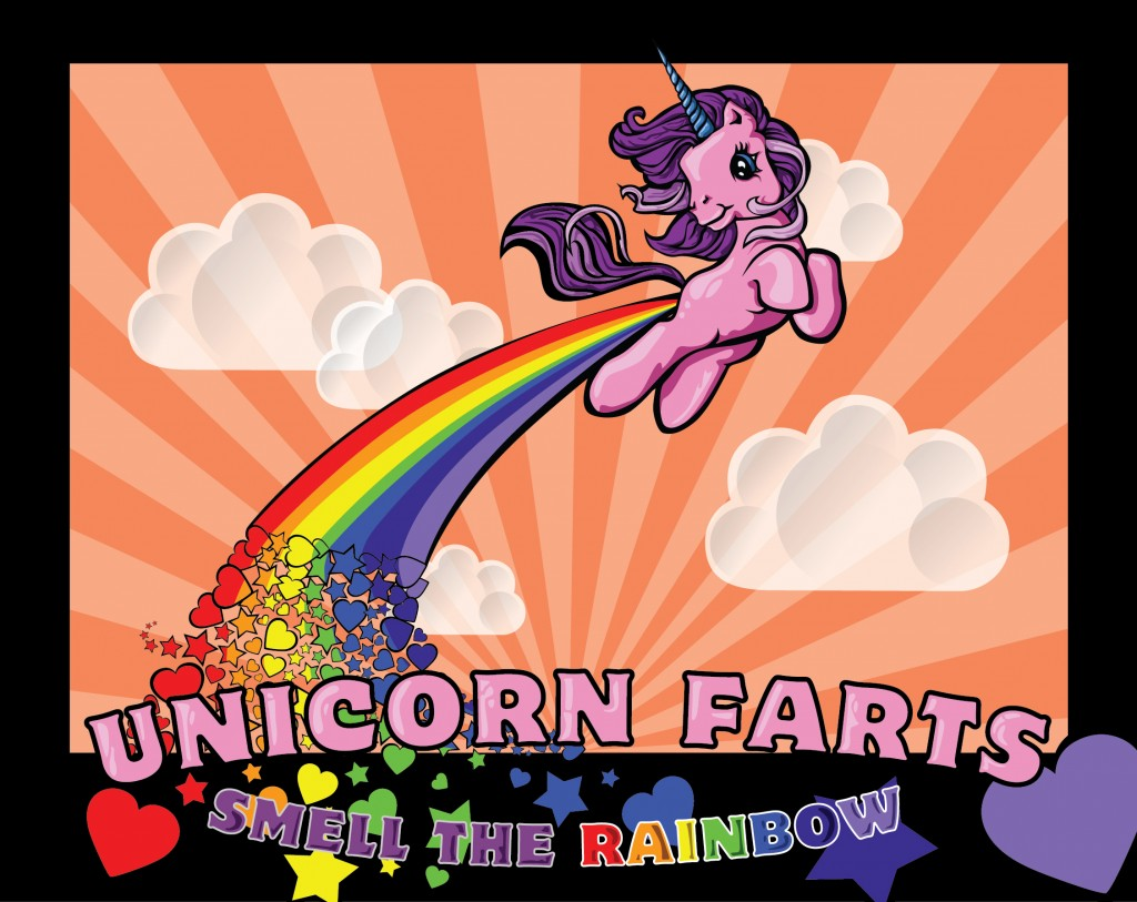 Unicorn Farts and Rainbows are the same as Marketing and Advertising myths.