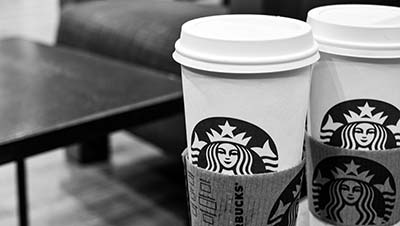 Thinking abour brand recognition is why Starbucks has become such an icon!